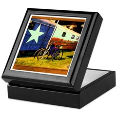 Texas Train Keepsake Box