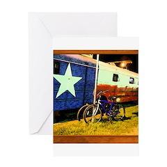 Texas Train Greeting Card