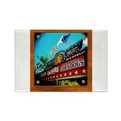 Texas Taters Rectangle Magnet
