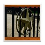 Texas Star #3 Tile Coaster