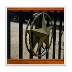 Texas Star #3 Tile Coaster