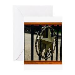 Texas Star #3 Greeting Card