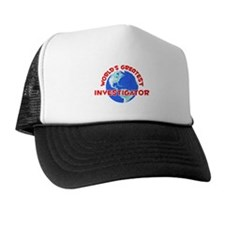 World's Greatest Inves.. (F) Trucker Hat