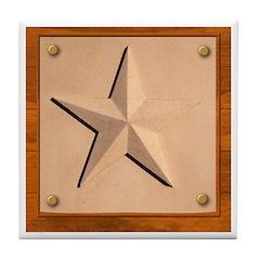 Texas Star #2 Tile Coaster
