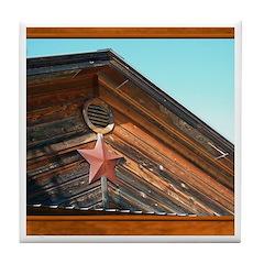 Texas Star #1 Tile Coaster
