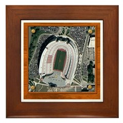 Texas Stadium Framed Tile