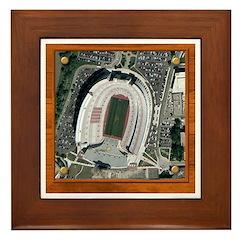 Texas Stadium Framed Tile