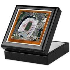Texas Stadium Keepsake Box