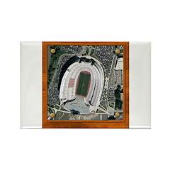 Texas Stadium Rectangle Magnet