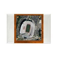 Texas Stadium Rectangle Magnet