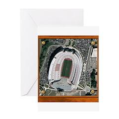 Texas Stadium Greeting Card