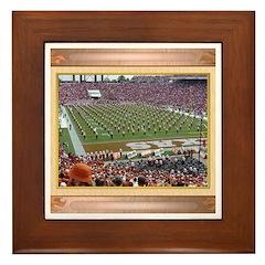 Cotton Bowl #2 Framed Tile
