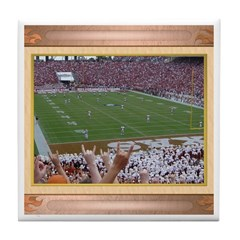 Cotton Bowl #1 Tile Coaster