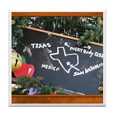 Texas, Mexico, Everybody Else Tile Coaster
