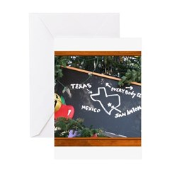 Texas, Mexico, Everybody Else Greeting Card