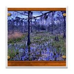 Sabine River Tile Coaster