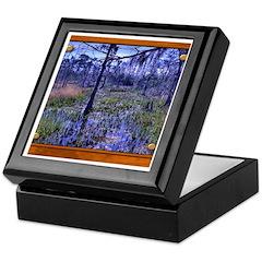 Sabine River Keepsake Box
