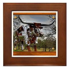 Longhorn Robo Framed Tile