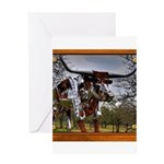 Longhorn Robo Greeting Card
