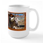 Longhorn #7 Large Mug
