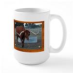 Longhorn #4 Large Mug