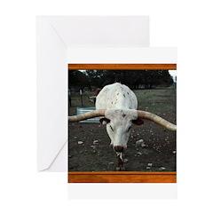 Longhorn #3 Greeting Card