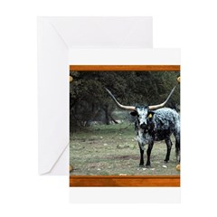Longhorn #2 Greeting Card