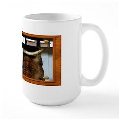 Longhorn #1 Large Mug