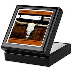 Longhorn #1 Keepsake Box