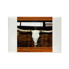 Longhorn #1 Rectangle Magnet