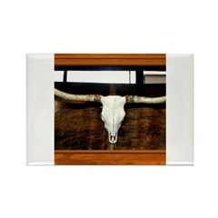 Longhorn #1 Rectangle Magnet