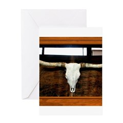 Longhorn #1 Greeting Card