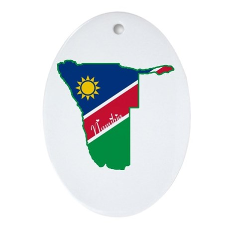 Cool Namibia Oval Ornament