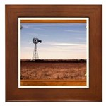 Windmill Framed Tile