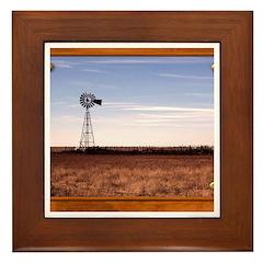 Windmill Framed Tile