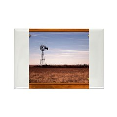 Windmill Rectangle Magnet