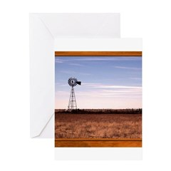 Windmill Greeting Card