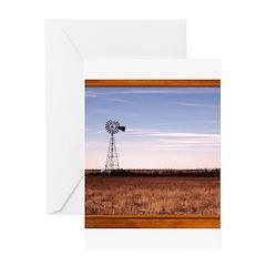 Windmill Greeting Card
