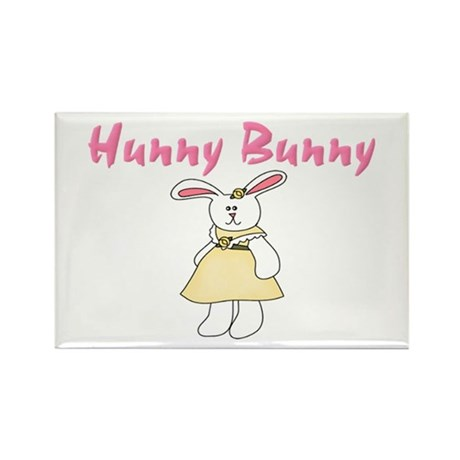 Hunny Bunny Rectangle Magnet (100 pack)