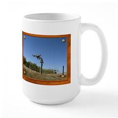 Keep Away! Sign Mug