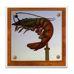 Jumbo Shrimp! Tile Coaster