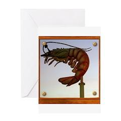 Jumbo Shrimp! Greeting Card