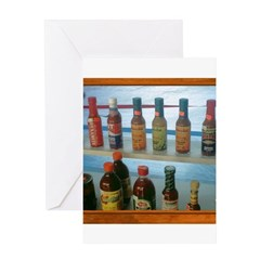 Hot Sauce Greeting Card