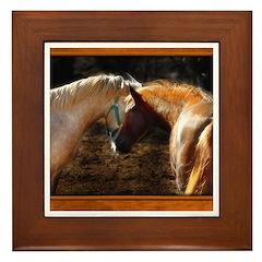 Horse #2 Framed Tile