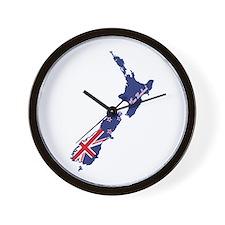 Cool New Zealand Wall Clock