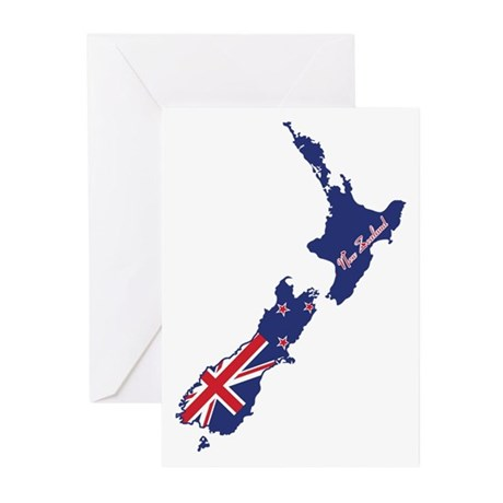 Cool New Zealand Greeting Cards (Pk of 20)