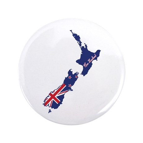 "Cool New Zealand 3.5"" Button (100 pack)"