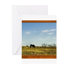Horse #1 Greeting Card