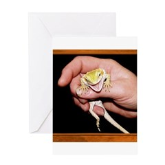 Horned Toad Greeting Card