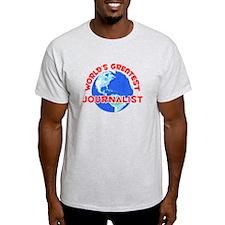 World's Greatest Journ.. (F) T-Shirt
